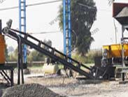 Vibratory Screen with Slinger Conveyor - Capious Roadtech Pvt. Ltd.
