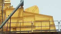 asphalt batch mix plant-batching tower screening unit